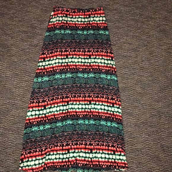 Dresses & Skirts - Colorful maxi skirt